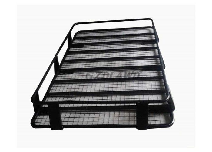 4X4 Universal Roof Rack Cargo Baskets Steel Material For Toyota Land Cruiser 80 Series