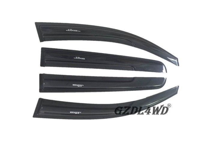 চীন Ranger T6 T7 Window Visor Sun Visor Deflector Injection Molding Black কারখানা